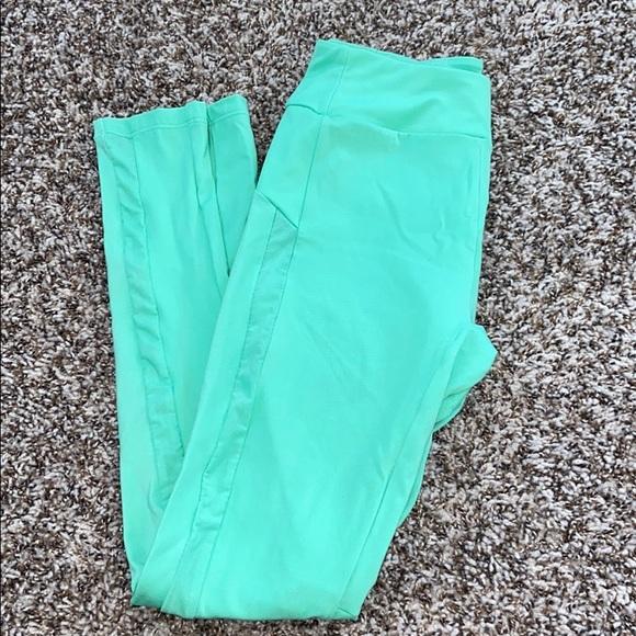 mint green gymshark leggings